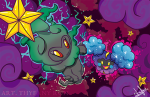 Cosmog and Marshadow
