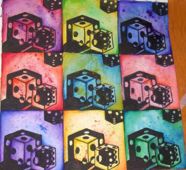 Dice Everywhere by dumbblonde0713