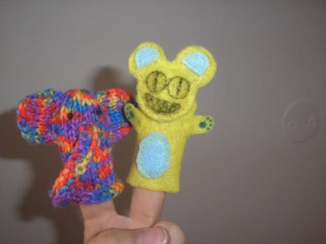 Finger puppets by yberry