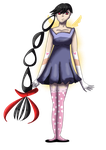 Lucy Transparent Image 1 [Magical Girl OC] by 01pxgx2