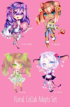 Floral Collab Adopts OTA (CLOSED) by Hiyie