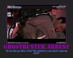 Ghostbuster Arrest by RyoLovesMe