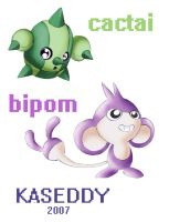 PoKeMoN:cactai and bipom