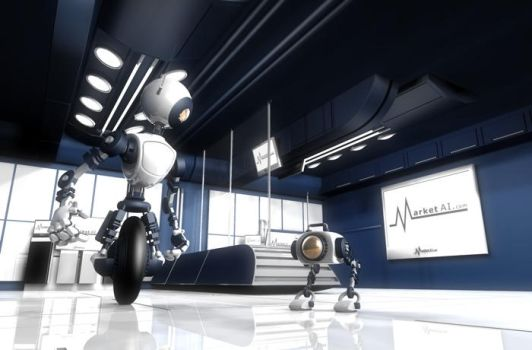 Market AI Computer Room V2 by ethan-