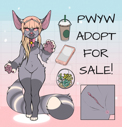 [SOLD] PWYW Adopt by Troll--zaya