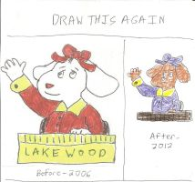 Draw This Again - Fern at Her School Desk by dth1971