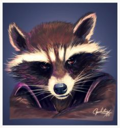 Rocket Raccoon by Apeliotus