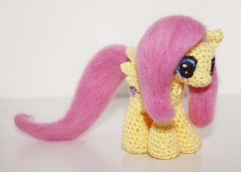 Mini Fluttershy by TheHarley