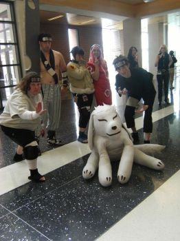 Naruto Group at Ikasucon by SpellboundFox