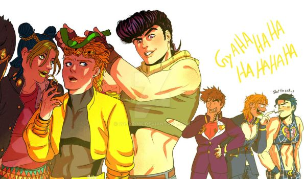 Jojos and Fathers by WisyPink