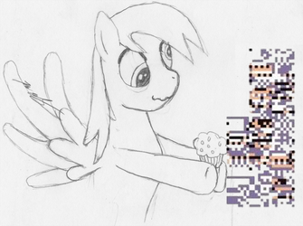 Derpy Hooves and Missingno by Dragonsbld