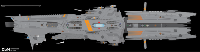 Lodestar-class Destroyer, Sento-in Cannonade by Afterskies