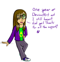 An Entire Year of DeviantArt by Oceanrush
