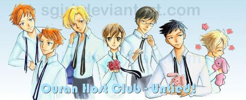 copics - Untied - Ouran by Fairytwister