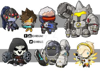Tiny Overwatch Group 01 by KevinRaganit