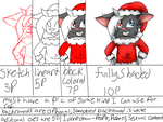 cheap Christmas Commisions!!!!!! (closed) by skyfeather0066