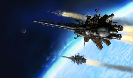 'Incroyable' Class Destroyer by MikeDoscher