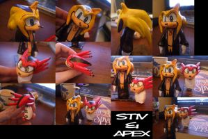 Stiv and Apex Clays by TheStiv