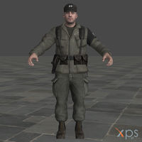 CoD Black Ops Military Police 2 for XPS by SaltPowered