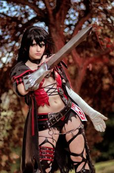 Velvet Crowe cosplay by KICKAcosplay