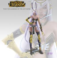 Tzofi the Guardian of the Lost Empire by Aphanopanop