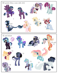 Old designs Adopts by MPLbasemaker33