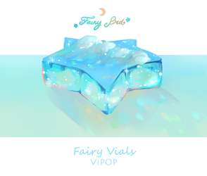 Sea Foam Bed | Fairy Vials by ViPOP