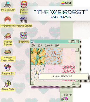 THEWEIRDEST // Patterns by FranceEditions