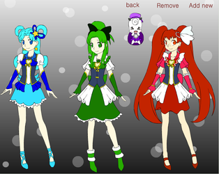 Baltic States Pretty Cure by DreamNotePrincess