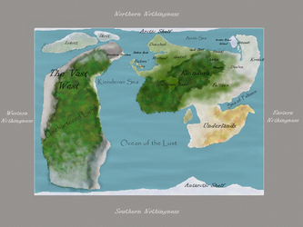 The Top World Map by Ainslee-The-Hermit