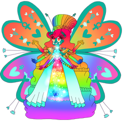 Venus's butterfly form (Adult version) by infaminxy