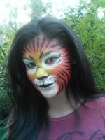 Facepaint - Tiger 3 by GraphiteGhost