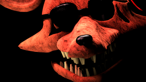 Withered Foxy Rare Screen by GameBennie