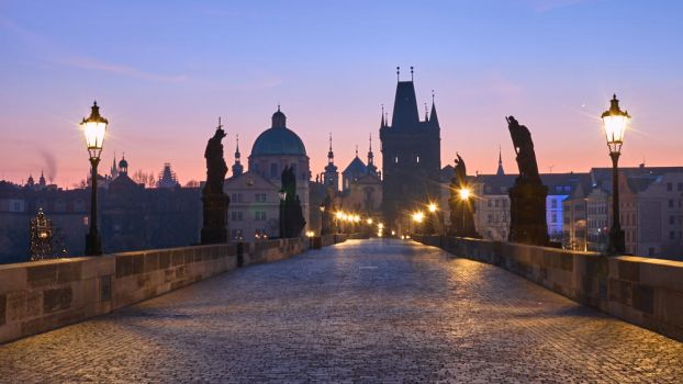 In the morning on Charles Bridge by MarkyF