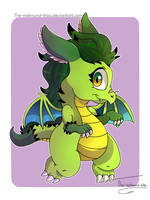 Chibi Dragonahs by The-redmund-shou