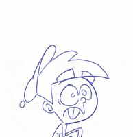 Animated Sketch Timmy to Vicky by toongrowner