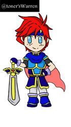 Commission- Chibi Roy by theonlytoner