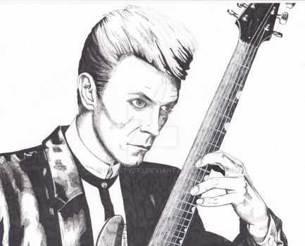 David Bowie by sHoRtY773