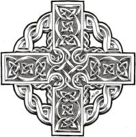 celtic cross by roblfc1892