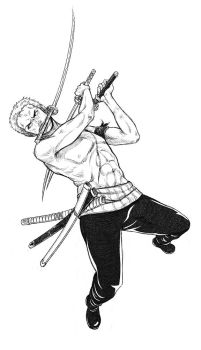 - Zoro Lines - by coreymill