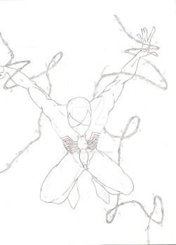 Quick spidey sketch