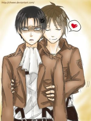 Levi x Seme!Male!Reader - Uniform Inspection- by MuffledScreaming on