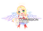 [COMMISSION] ANGEL by o0Lucia0o