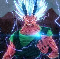 DragonBall AF Project: XICOR False super sayan 5 by merimo-animation