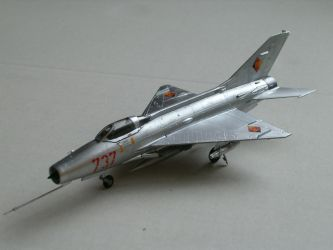 MiG 21 F-13 'Fishbed C' by kanyiko