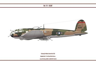 Fantasy 928 He 111 USAF by WS-Clave