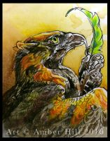Flames ACEO by vantid