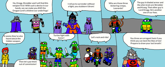 Turtles Met Mice Page 9 by LuciferTheShort