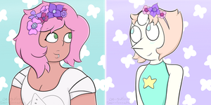 Mysterypearl Icons by redfenna