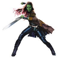 Gamora 2 - PNG by Captain-Kingsman16